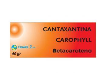 Mezcla Cantaxantina/Carophyll/Betacaroteno