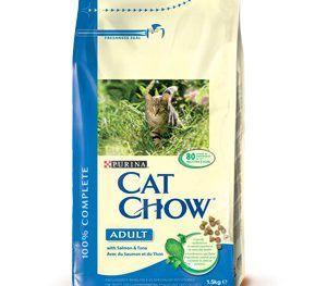 Cat Chow Adulto Salmón y Atún