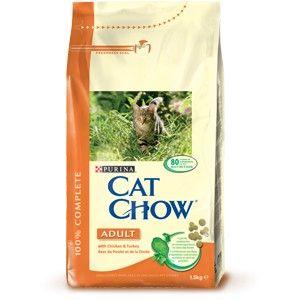 Cat Chow Adulto Pollo y Pavo